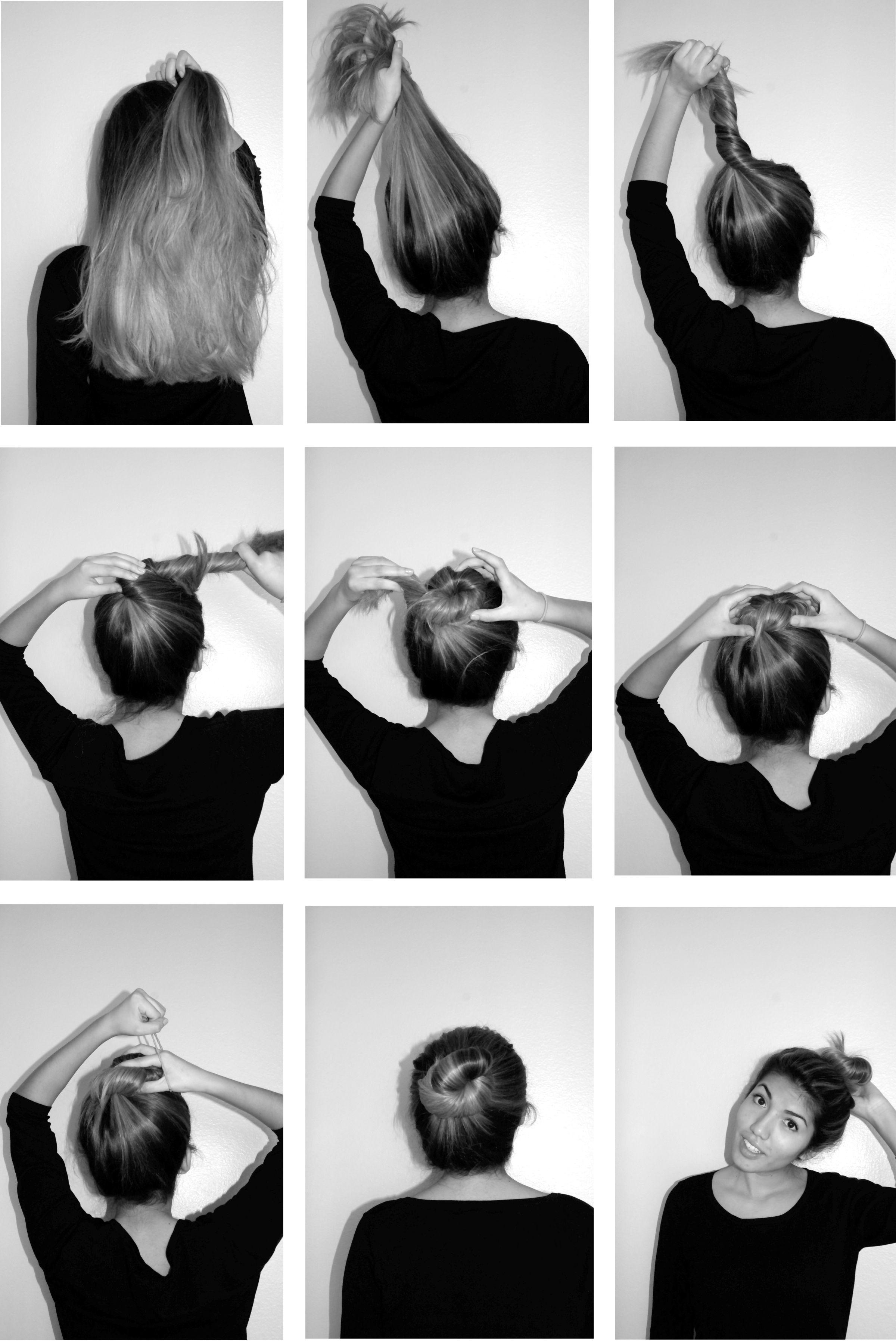 72 How To Do A Messy Bun With Thin Hair Ideas Fashion Di 2019