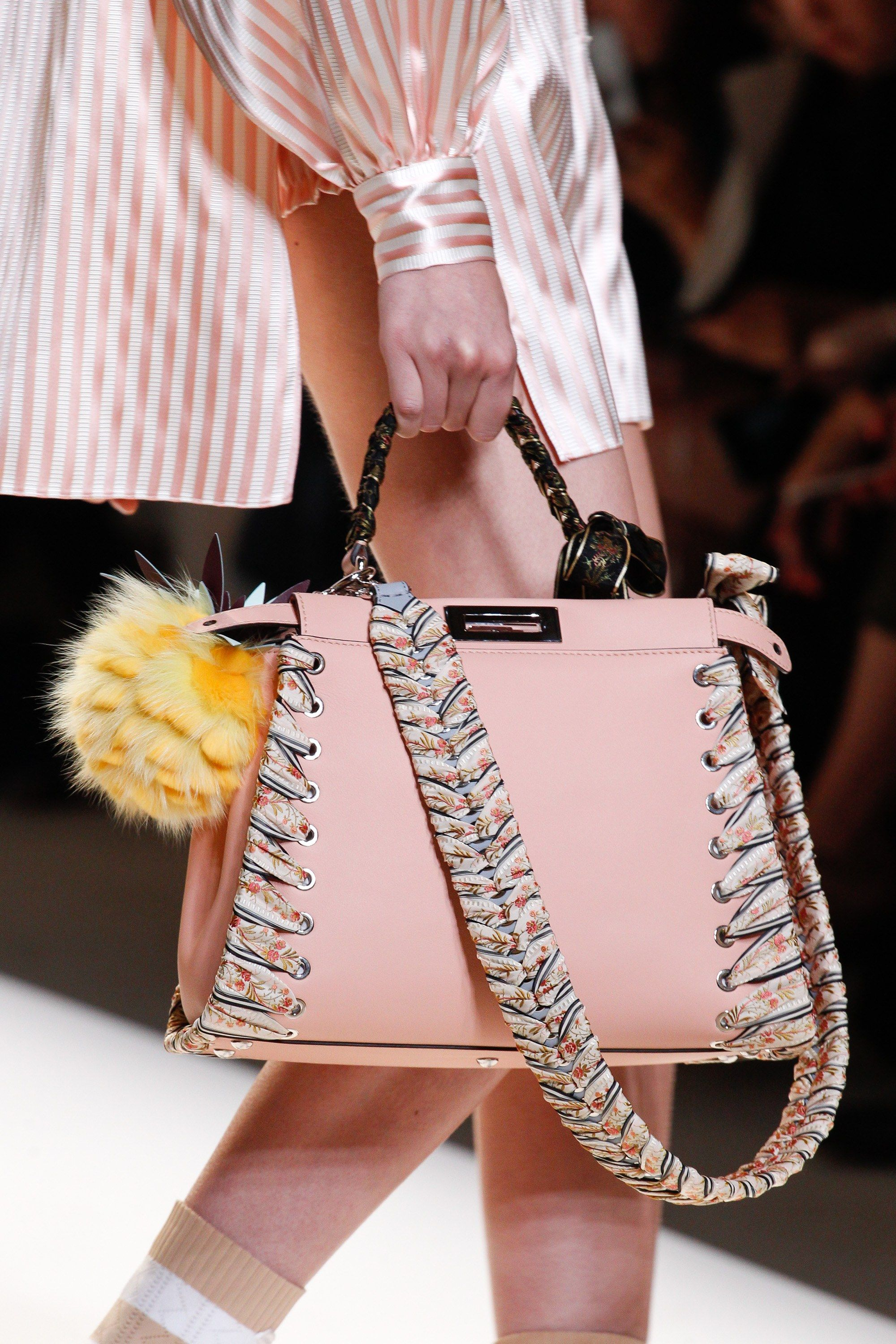 Fendi Spring 2017 Ready-to-Wear collection by Silvia Venturini Fendi and  Karl Lagerfeld 9e8751b4a96