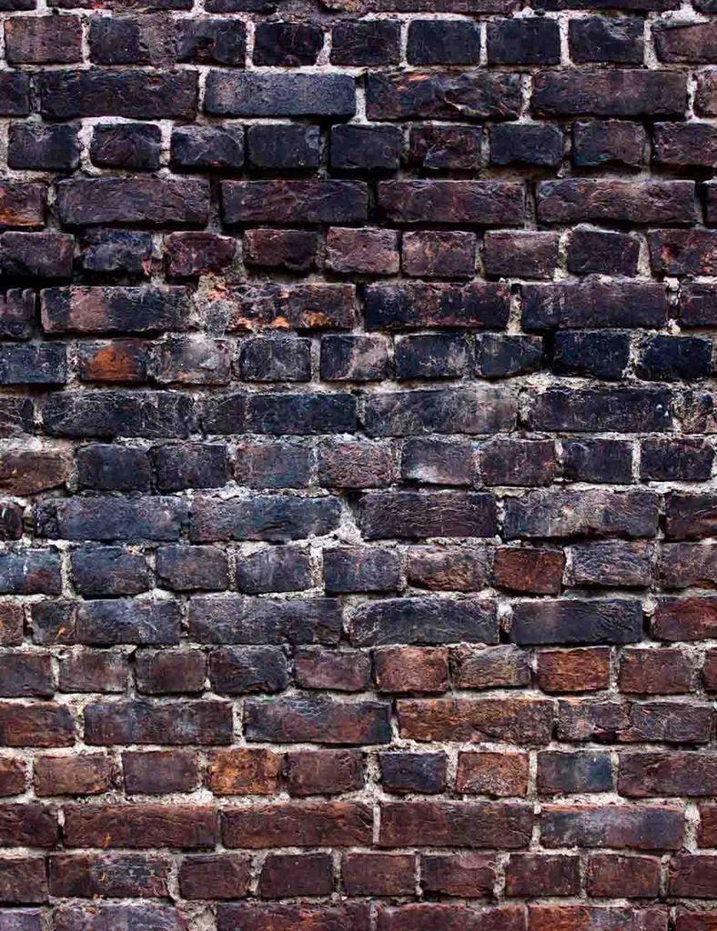 Grunge Black Red Brick Wall Texture Photography Backdrop Black Brick Wall Red Brick Walls Brick Interior Wall