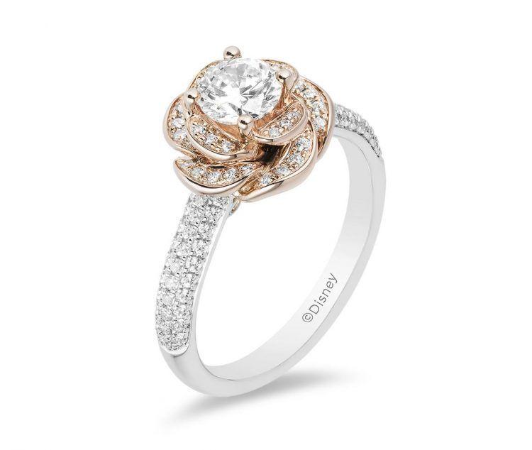 Belle Engagement Ring Disney Disney Engagement Rings Cute Engagement Rings Brilliant Engagement Rings