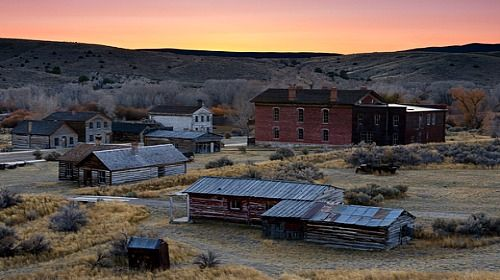 Best Preserved Ghost Towns In The West Bannack Montana The Great Outdoors Pinterest