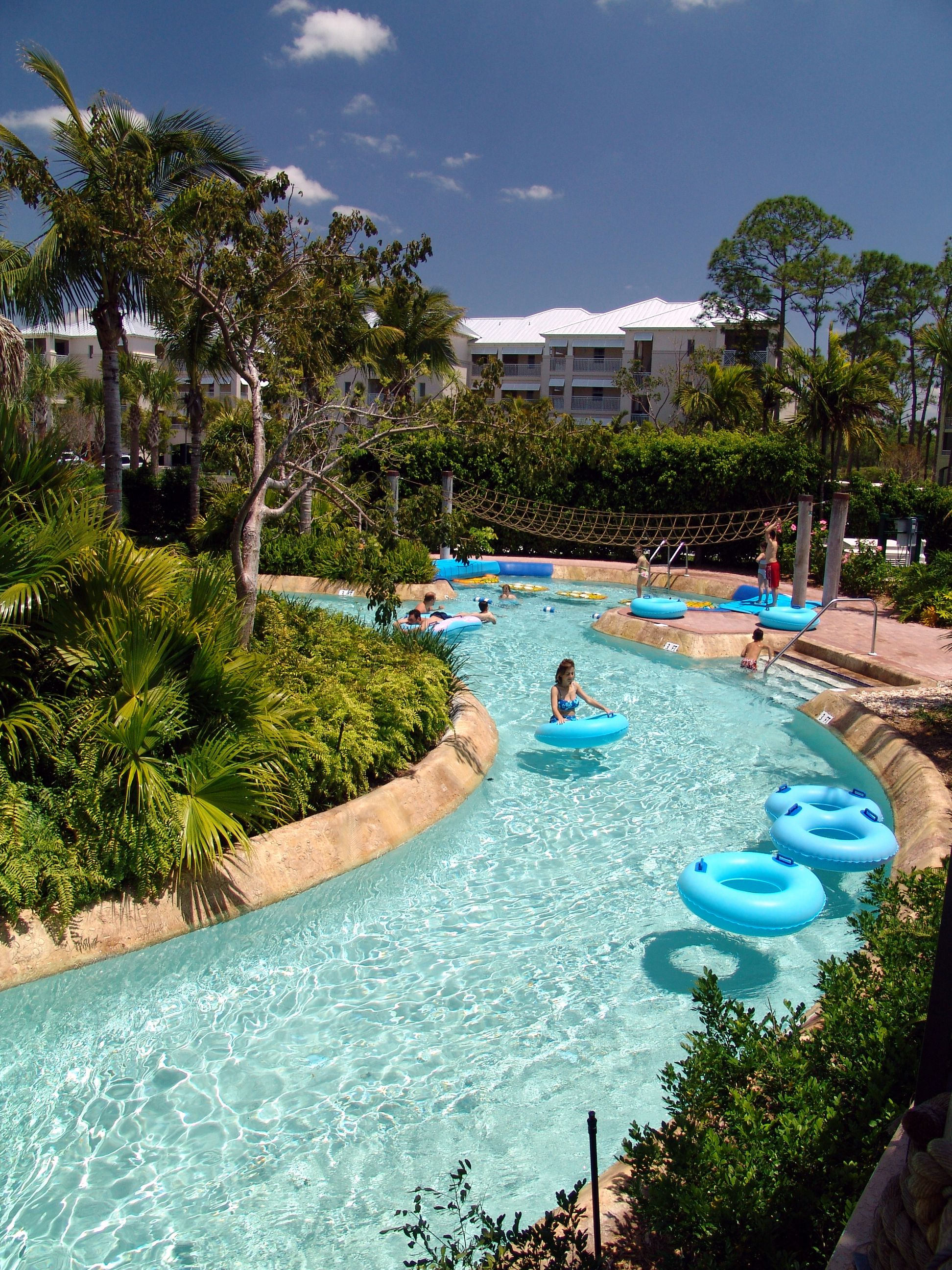 Beach Water Resorts Lazy Rivers Fort Myers Florida