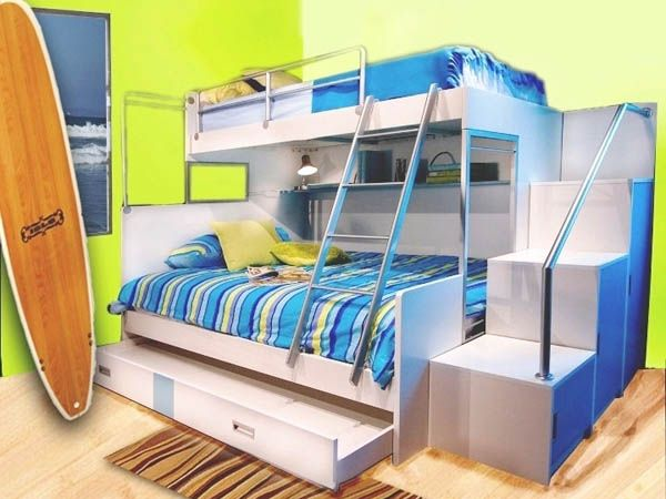 20 Cool Bunk Beds Kids Will Love Bunk bed Boy beds and Bedrooms