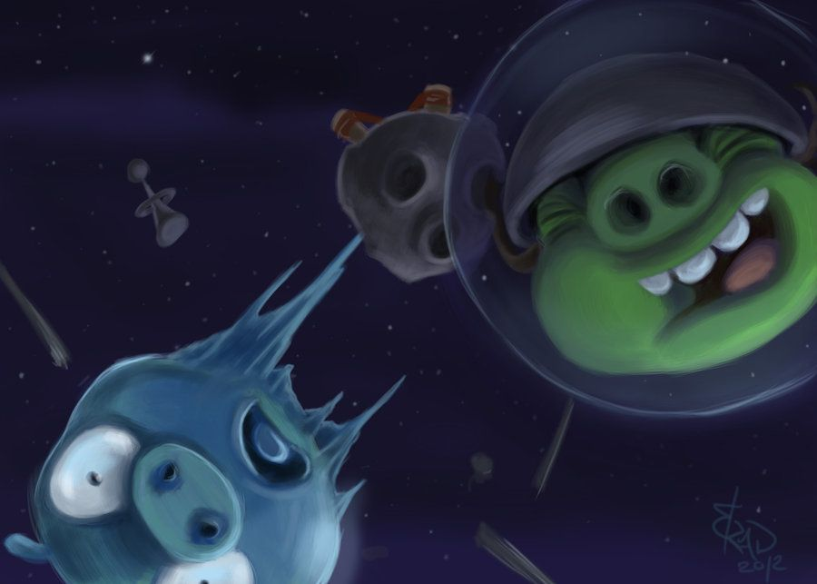 Super cool angry birds space fan art angry birds space super cool angry birds space fan art voltagebd Images