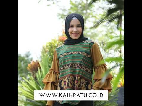 9 Baju Tenun Wa 0852 3410 5855 Ideas Fashion Batik Skirt Kulot Batik