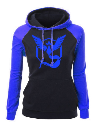 d100f8c89e919 Women's Pokemon GO Team Mystic Fitted Hoodie in 2019 | Clothes ...