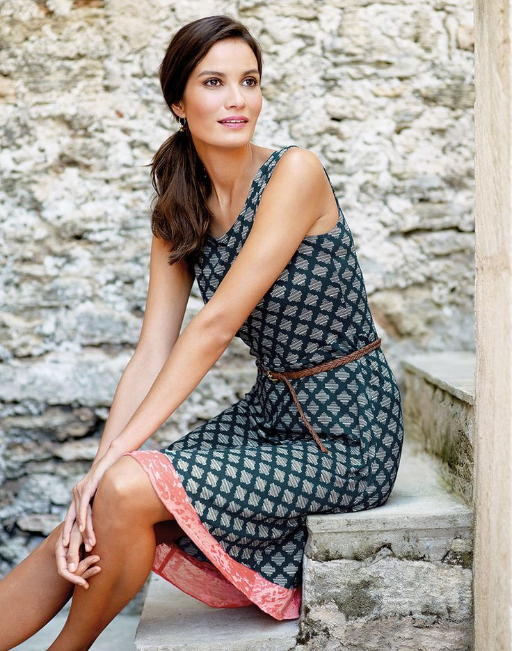 Carmenkleid mit Akzent #sommerkleidselbernähen