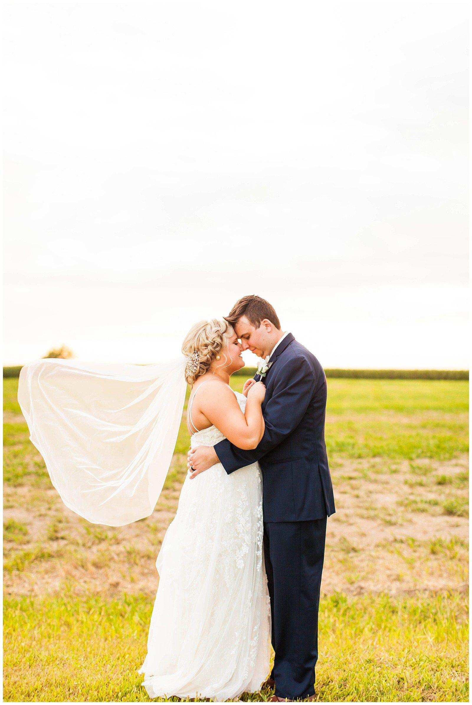 Lindsey drake blush navy southern illinois wedding