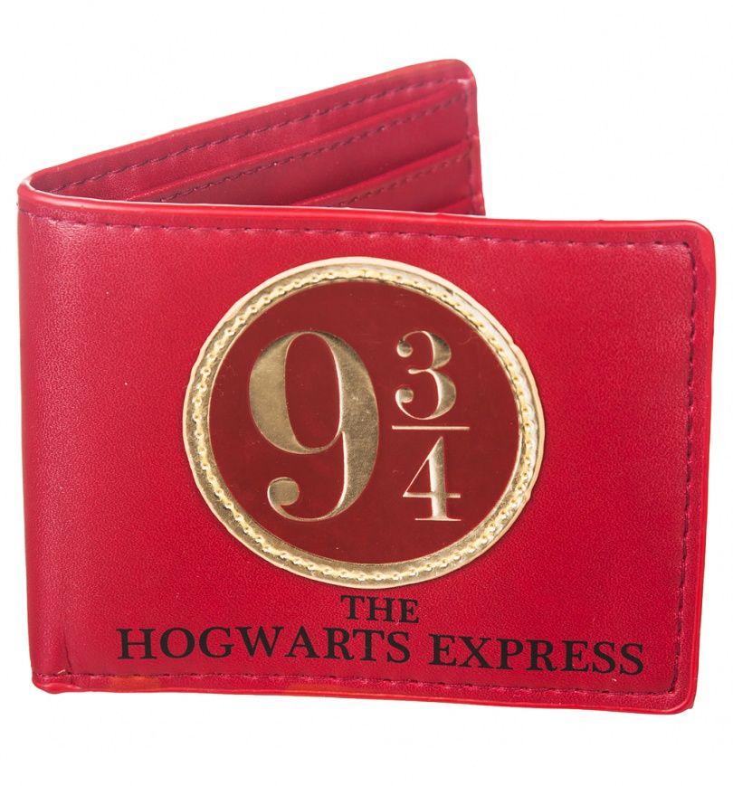 Harry Potter Gryffindor Hogwarts Rouge Portefeuille