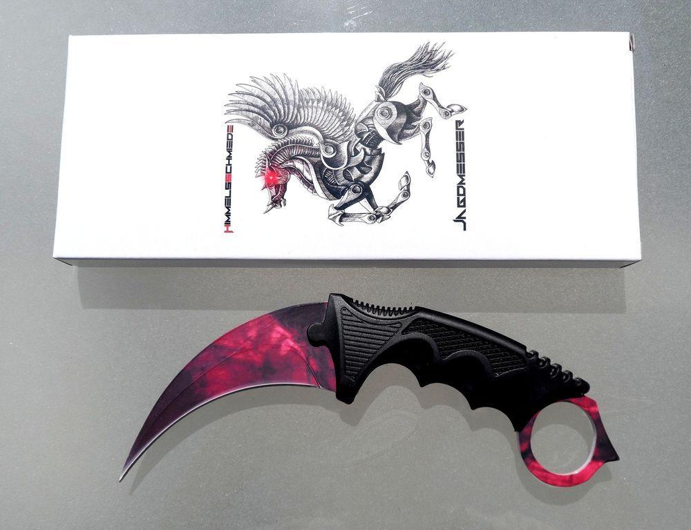 Counter Karambit Doppler Ruby Phase 2 Skin Knife Cs Go