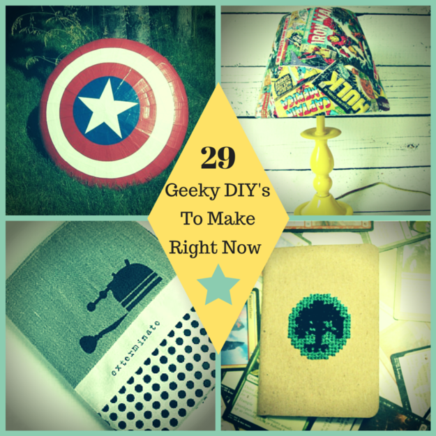 29 geek diys to make right now geek tastic pinterest craft 29 geeky crafts you need to make right now solutioingenieria Gallery