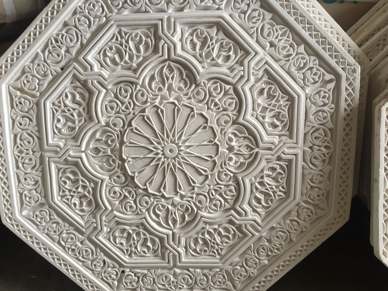 moorish moroccan islamic art ceiling medallion 300 to many styles just arrived - Ceiling Medallion