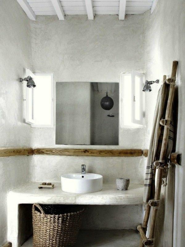 Bad Idden Weißer Waschbecken