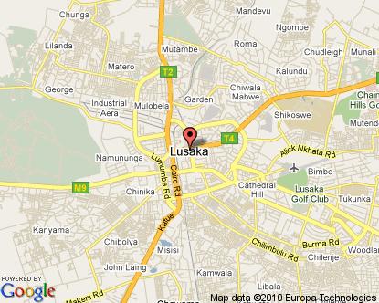 Lusaka Zambia Map.Lusaka Map Zambia In The Sun Map