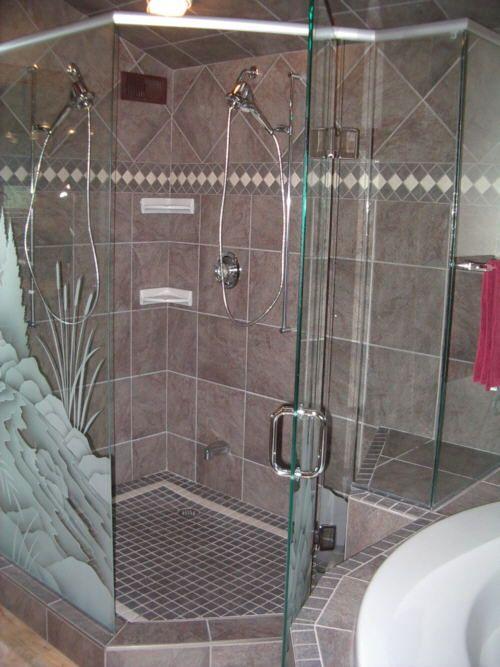 Possible Border Tile Pattern Ceramic Tile Bathrooms Huge Shower
