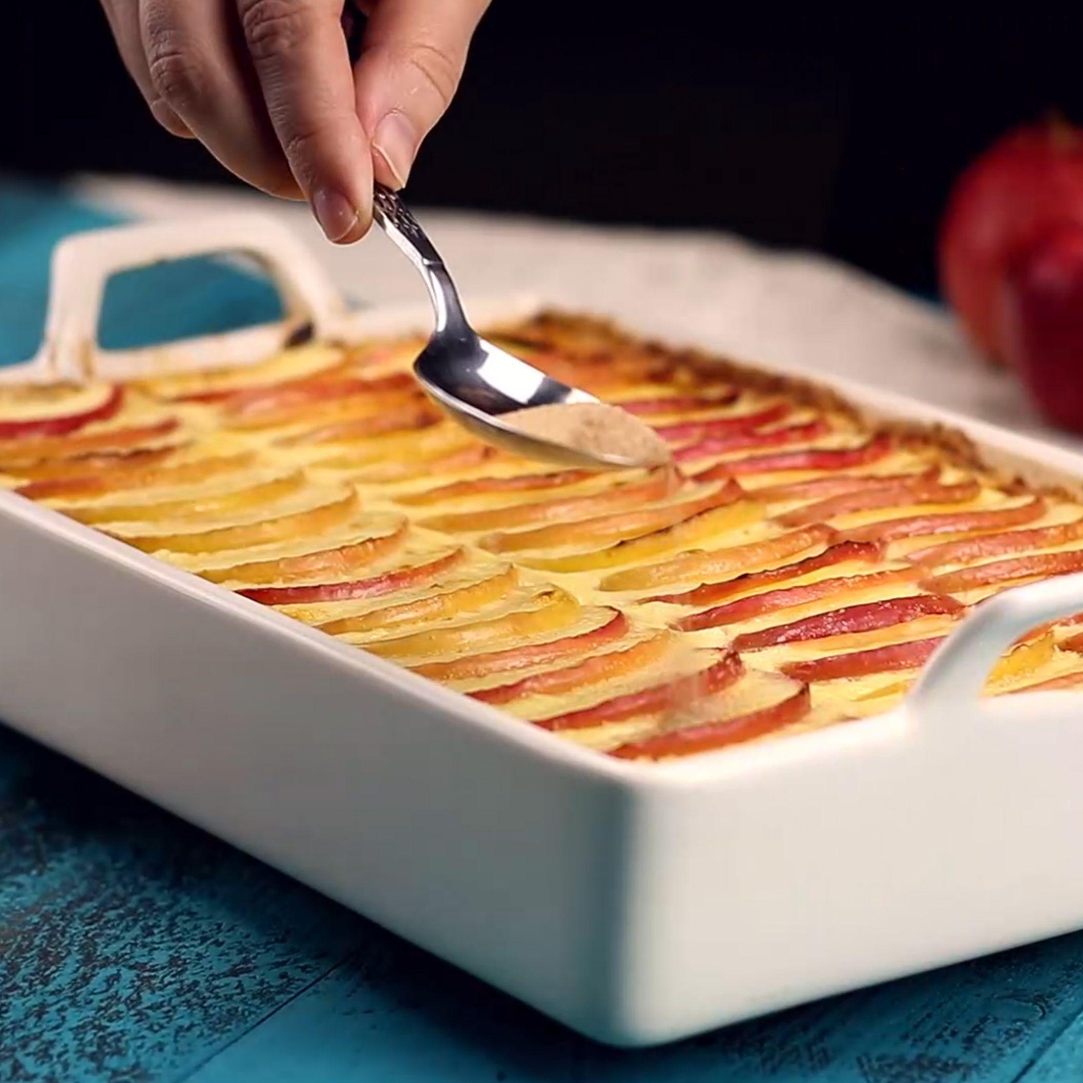Photo of Fragrant apple casserole