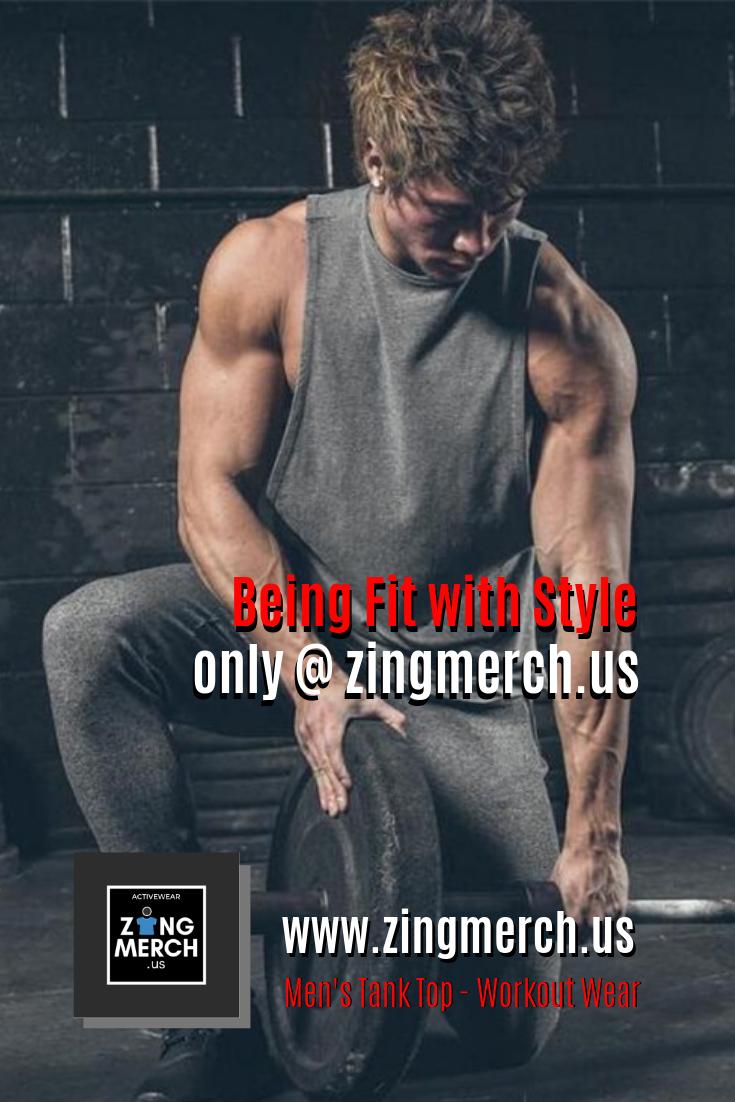 Men's Tank Top - Workout Wear   Workout tank tops ...