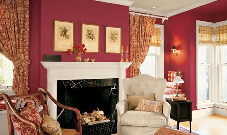 Dining Room Eddie Bauer Cranberry Paint For The Trim Of The House Paint Colors For Living Room Living Room Red Traditional Living Room