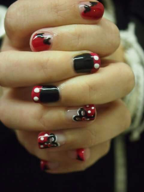 Mickey Mouse Disney nails by Felicity Burgess - Young at Belle Dame ...