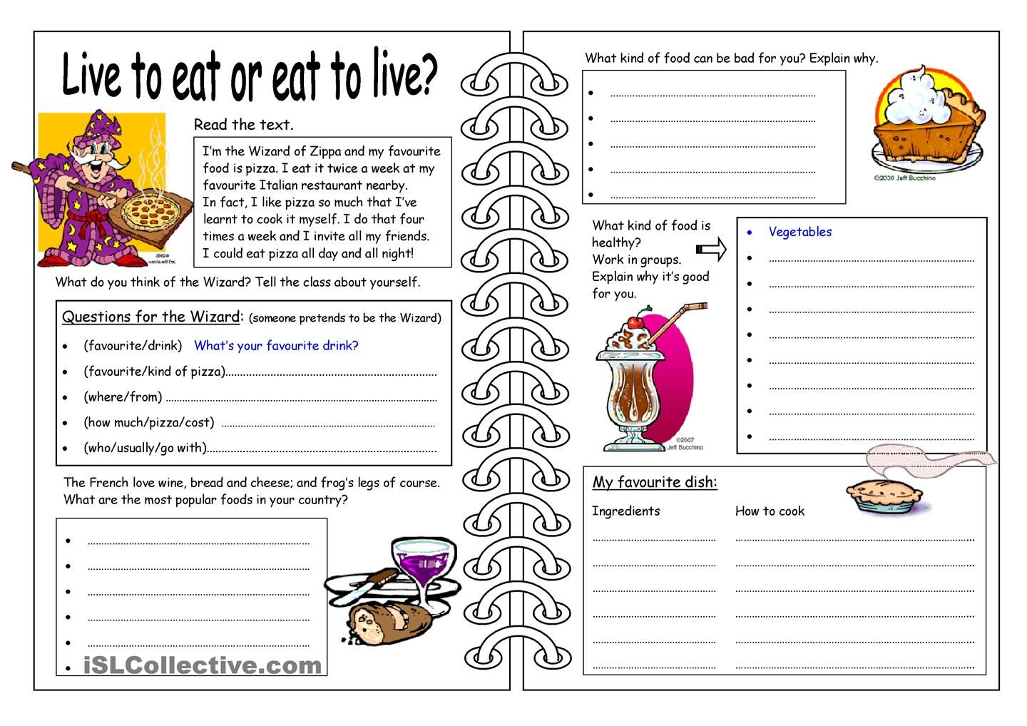 Real Life Vocabulary Worksheet