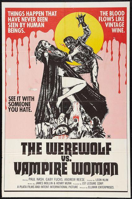 THE WEREWOLF & THE VAMPIRE WOMAN