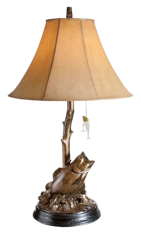 Bass Table Lamp Bass Pro Shops Lamp Fish Lamp Table Lamp