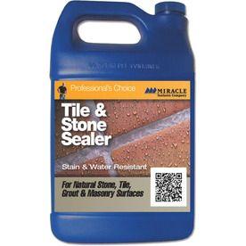 Miracle Sealants Company Tile & Stone Sealer Gallon