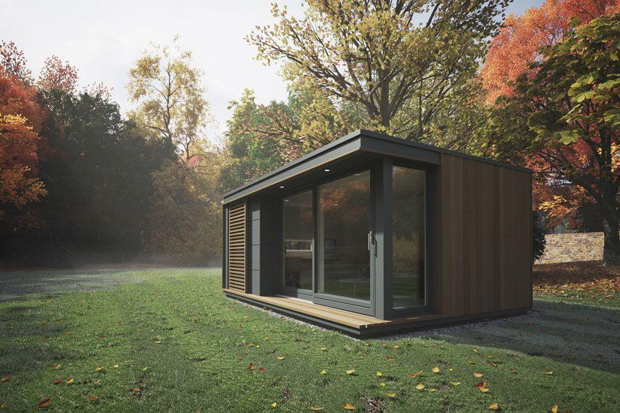 office garden pod mini glide pod garden studios offices rooms buildings eco homes space