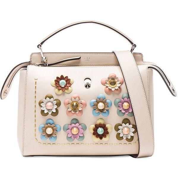 Fendi Flower Embellished Dotcom Bag (108