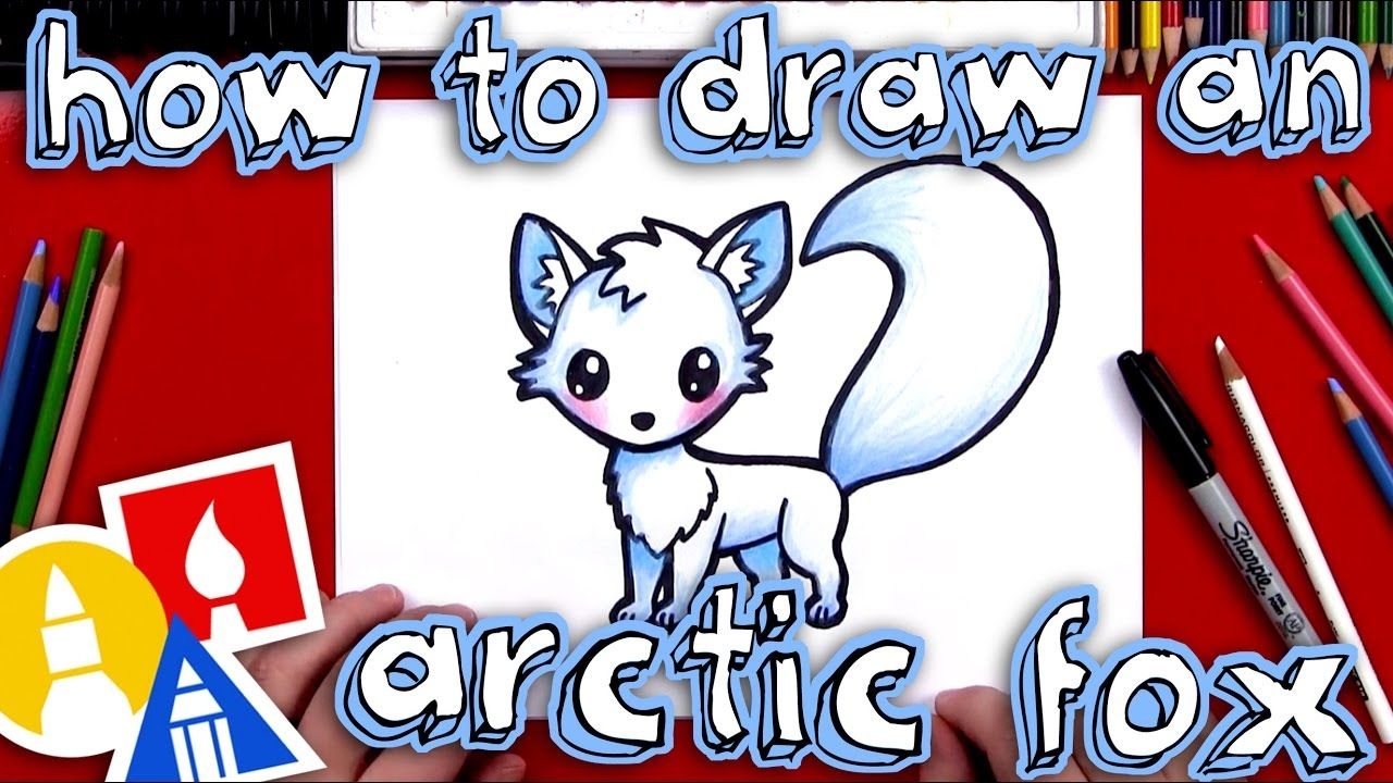 How To Draw An Arctic Fox With Images Art For Kids Hub