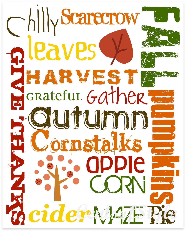 Autumn Fall Harvest