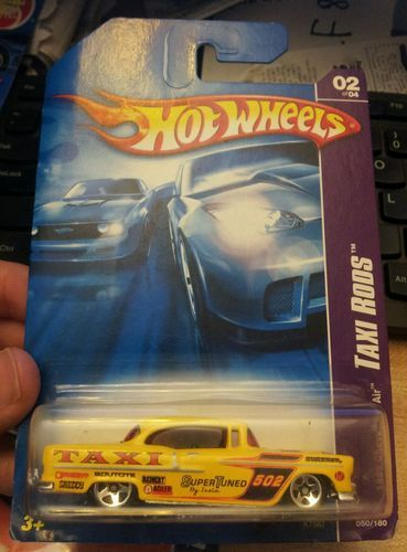 Hot Wheels  1955 Chevy Bel Air Taxi Rods