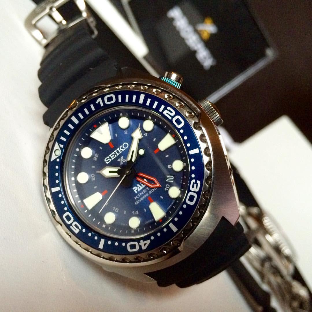Prospex PADI Kinetic GMT (SUN065)