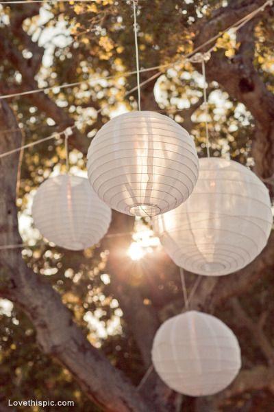 Good Garden Decor White Paper Lanterns Outdoor Paper Lanterns