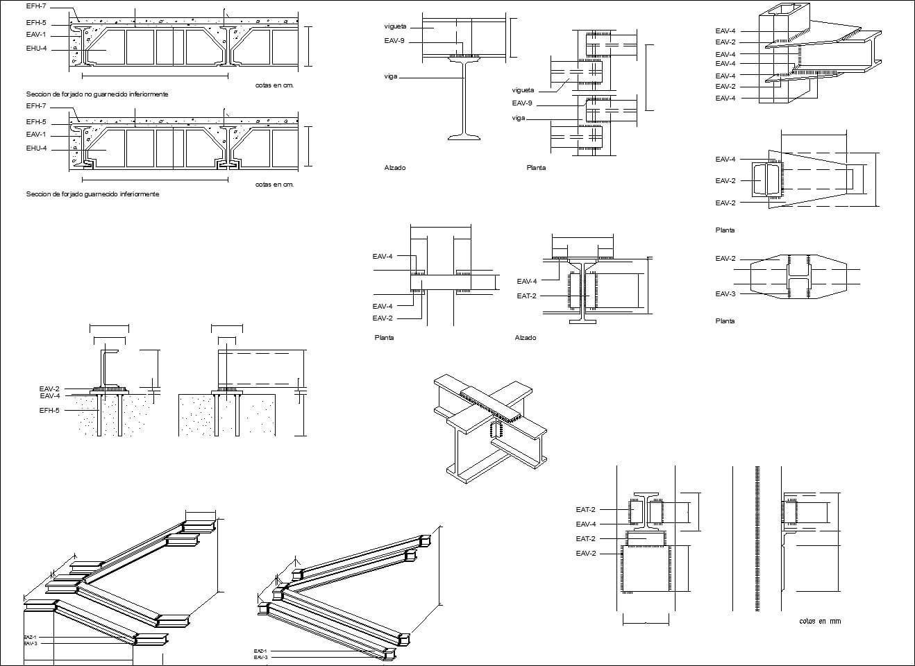 Includes the following cad symbols cad blocks of steel structure includes the following cad symbols cad blocks of steel structuresteel detailstructural biocorpaavc Choice Image