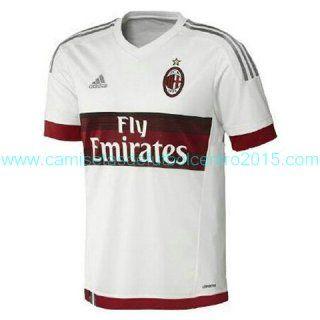 Camiseta del AC Milan Segunda 2015-2016 baratas