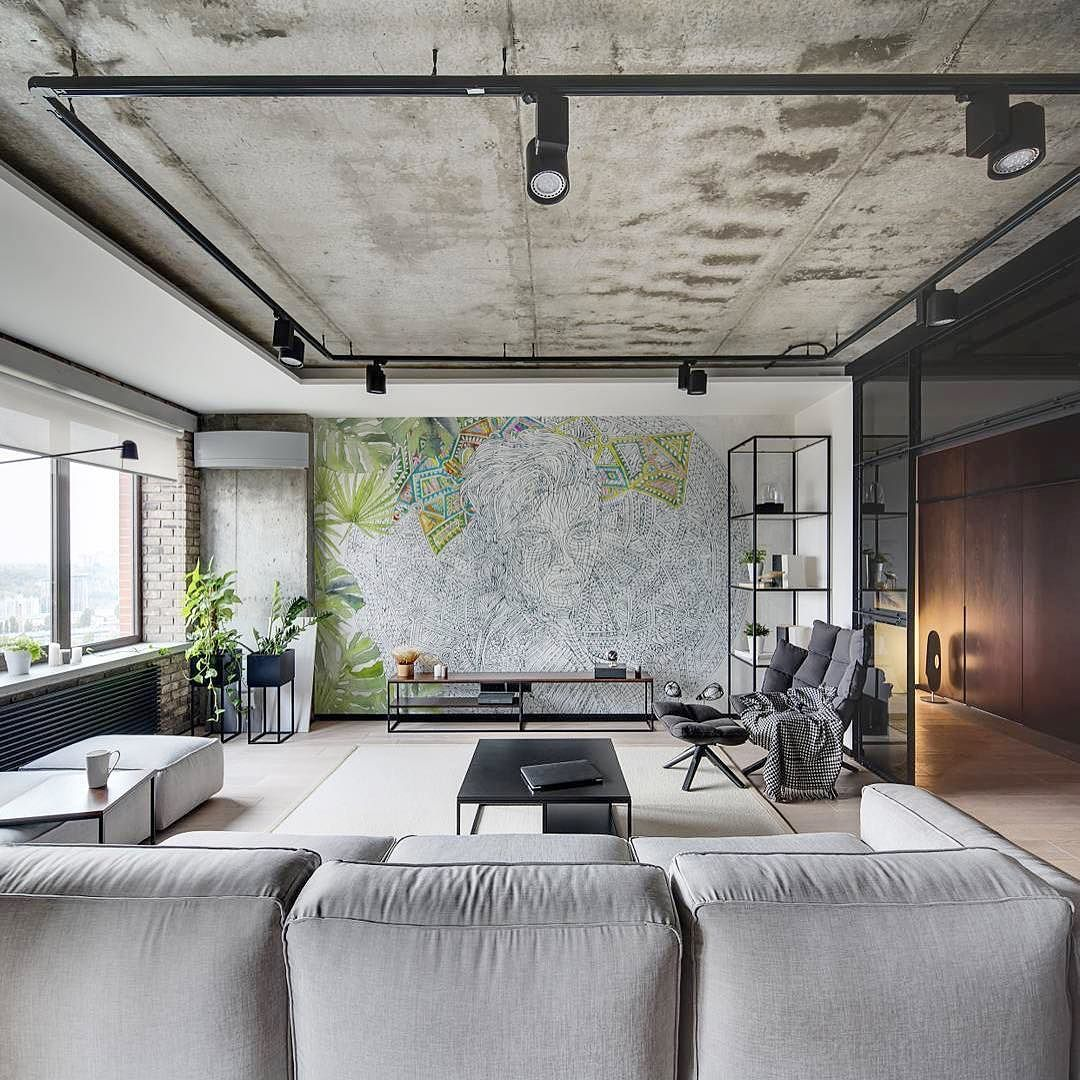 33 Best Exposed Concrete Ceiling Images