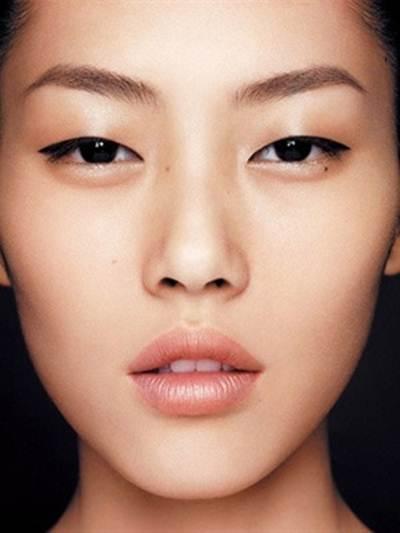 انواع الحواجب بالصور حسب شكل الوجه صور تاتو و حنة و رسم حواجب Monolid Makeup Asian Makeup Asian Eyebrows