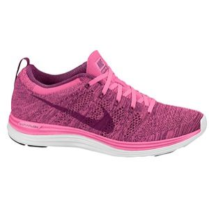 purchase cheap a4e58 09e40 Nike Flyknit Lunar 1+ - make a pink statement in these lightweight shoes!