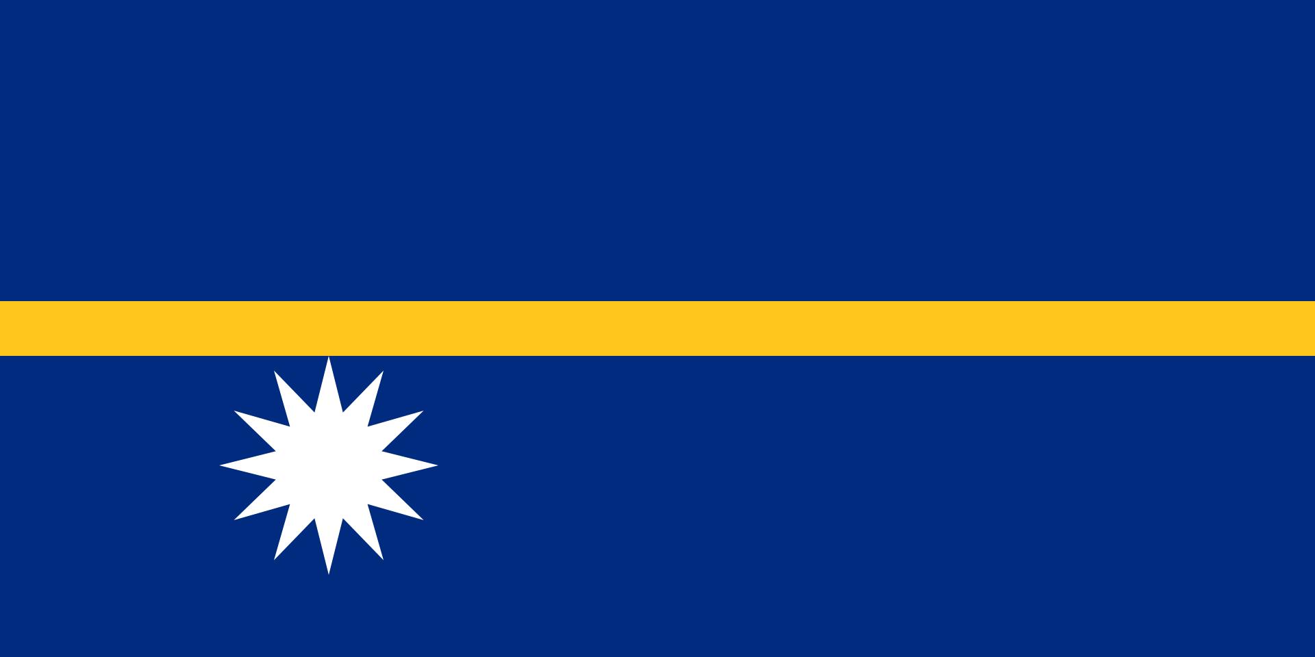 Flag Of Nauru Flag Of Nauru Wikipedia Nauru Flag Flags Of The World Flag