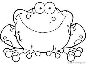 Kurbağa Boyama Okul öncesi Boyama