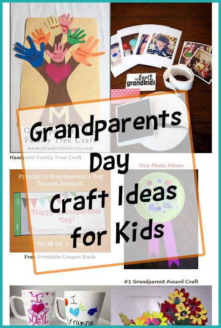 Grandparents Day Crafts Easy Crafts For Kids Grandparents Day