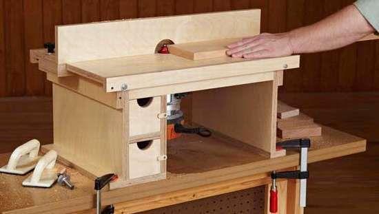 Фрезерный стол для ручного фрезера своими руками - чертеж 31
