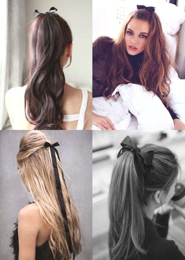 Hairstyle Trends How To Wear Ribbons In Your Hair Trendsurvivor Ribbon Hairstyle Hair Styles Hair Looks