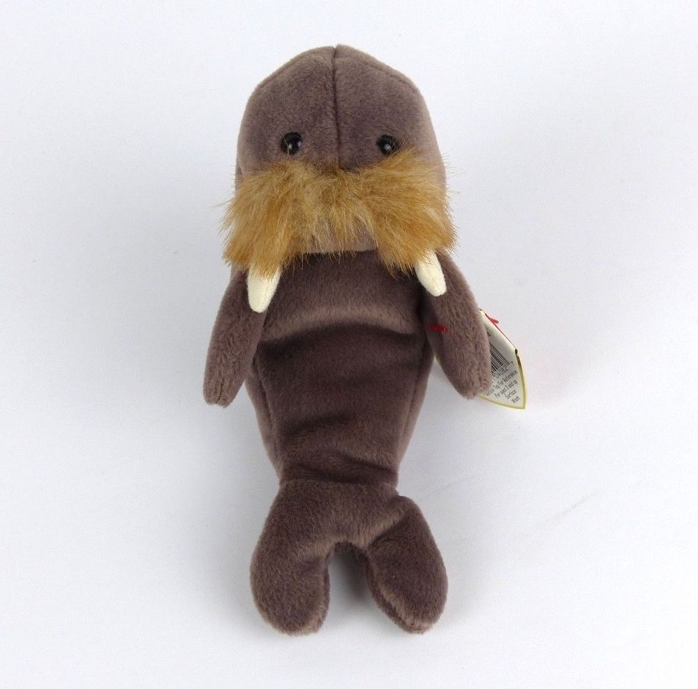 Jolly The Walrus TY Beanie Baby 1996 4082 P.E Pellets Retired 4th 4th Tag  Gen  Ty 29d361c850a5