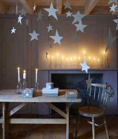 15 ideas para una decoración de navidad minimalista. | Estrella ...