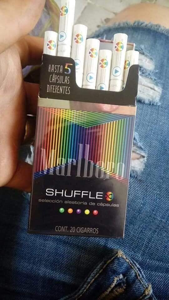 Marlboro shuffle сигареты купить одноразовые электронные сигареты xtra