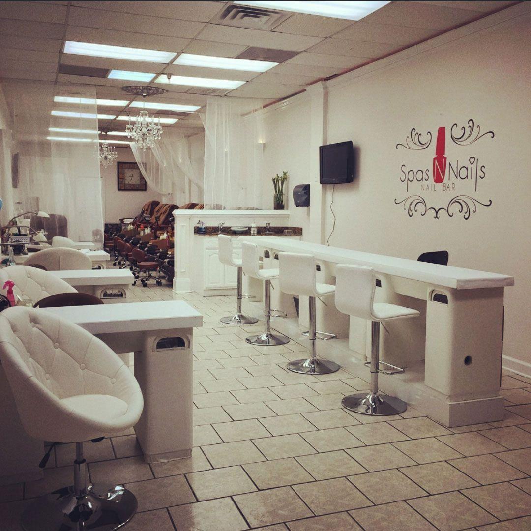 Spas N Nails Is A Trendy Nail Salon / Nail Bar In