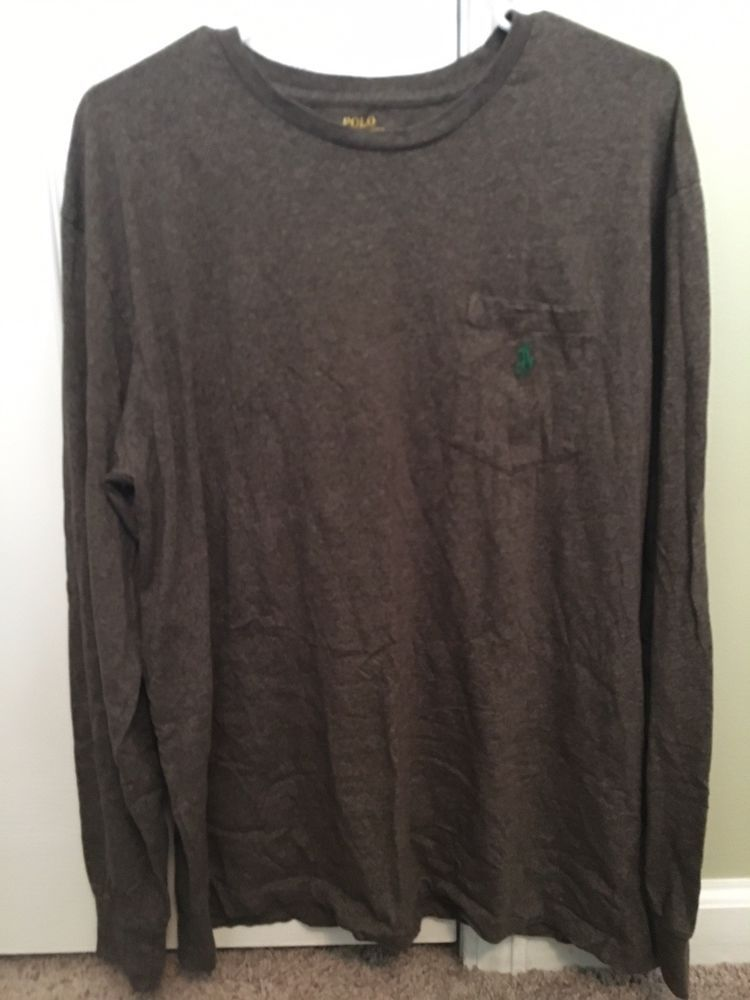 23c6d3e458141 NEW POLO RALPH LAUREN LONG SLEEVE MENS MESH SHIRT CLASSIC FIT MSRP 89.50   fashion  clothing  shoes  accessories  mensclothing  shirts (ebay link)