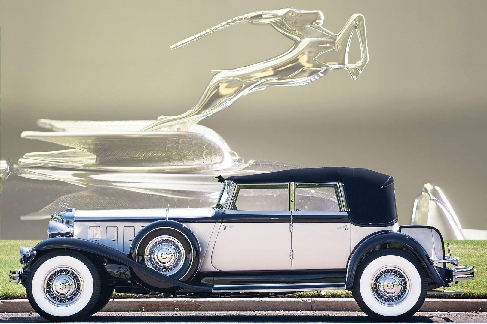 1932 chrysler cl imperial convertible sedan by lebaron